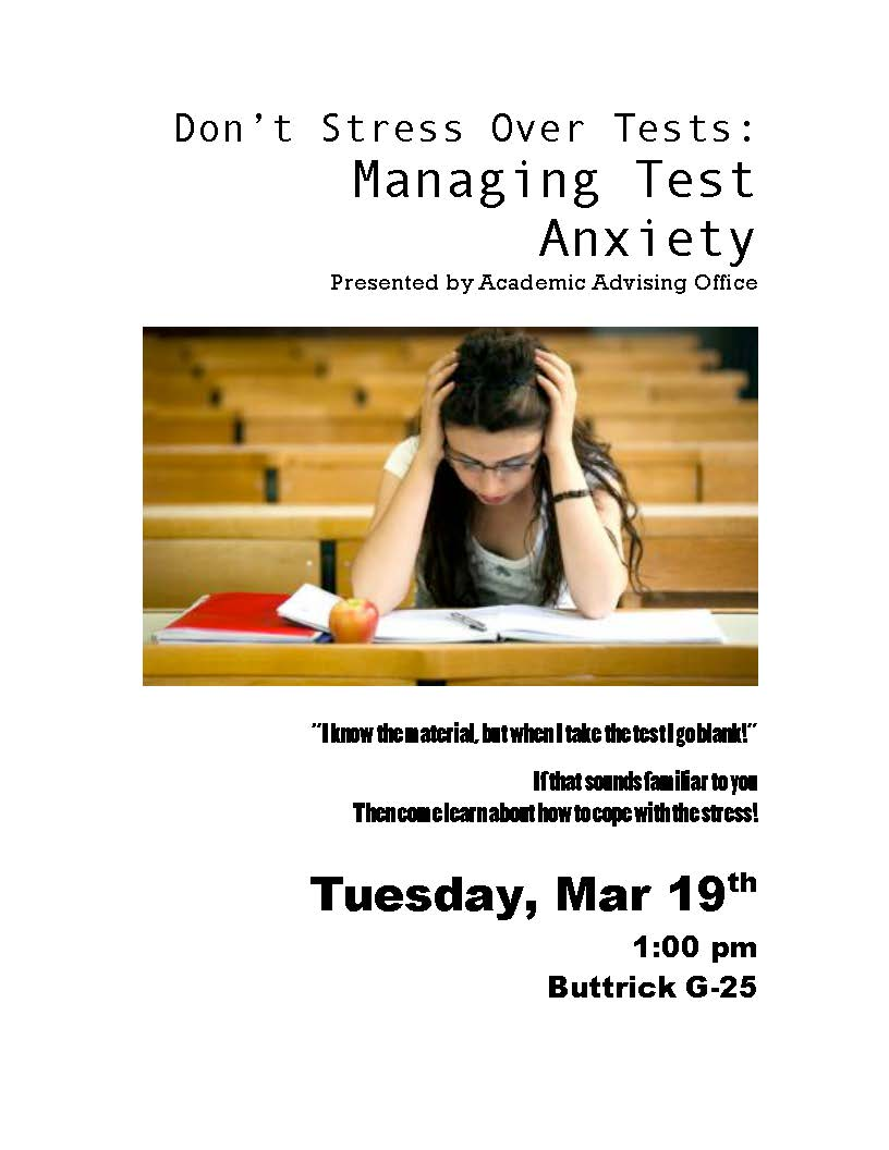 Don't Stress Over Tests: Managing Test Anxiety | The Irvine at Agnes Scott College
