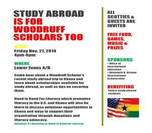 Woodruff flyer